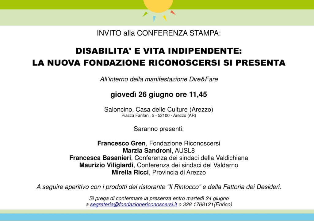 Presentazione Fondazione Riconoscersi